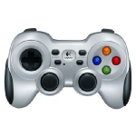 Logitech Wireless Gamepad F710 / 2,4 GHz / Vibrace / USB / výprodej (940-000145)