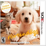 3DS Nintendogs+Cats - Golden Retrievernew Friends / Simulátor / Angličtina / od 3 let / Hra pro Nintendo 3DS (NI3S500)
