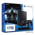 SONY PlayStation 4 - 1TB slim Black CUH-2016B + Diablo III: Ultimate Evil Edition + camera + 2x Dualshock (PS4.bigpack.DIABLOIII)