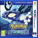 3DS Pokemon Alpha Sapphire / Adventura / Angličtina / od 7 let / Hra pro Nintendo 3DS (NI3S594010)