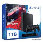 SONY PlayStation 4 - 1TB slim Black CUH-2016B + DRIVECLUB+ camera + 2x Dualshock (PS4.bigpack.driveclub)