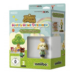 3DS Animal Crossing HHD + Isabelle (Summer) amiibo / Simulátor / Angličtina / od 3 let / Hra pro Nintendo 3DS (NI3S013)