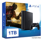 SONY PlayStation 4 - 1TB slim Black CUH-2016B + Dark Souls III (PS4.1TB.DS3)