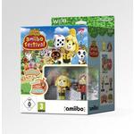 WiiU Animal Crossing:amiibo Festival + 2x amiibo +3card / Společenská / Angličtina / od 3 let / Hra pro Nintendo Wii U (NIUS02321)