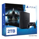 SONY PlayStation 4 - 2TB slim Black CUH-2016 + Diablo III: Ultimate Evil Edition (PS4.2TB.DIABLOIII)