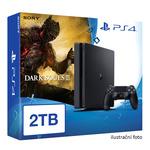 SONY PlayStation 4 - 2TB slim Black CUH-2016 + Dark Souls III (PS4.2TB.DS3)
