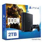SONY PlayStation 4 - 2TB slim Black CUH-2016 + DOOM (PS4.2TB.Doom)