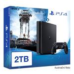 SONY PlayStation 4 - 2TB slim Black CUH-2016 + Star Wars Battlefront (PS4.2TB.SW)