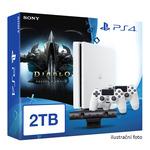 SONY PlayStation 4 - 2TB White CUH-2016 + Diablo III: Ultimate Evil Edition + camera + 2x Dualshock (PS4W.2TB.big.DIABLOIII)