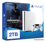 SONY PlayStation 4 - 2TB White CUH-2016 + Uncharted 4: A Thief's End (PS4W.2TB.Unch4)