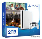 SONY PlayStation 4 - 2TB White CUH-2016 + GTA V + The Order + God of War 3 Remastered (PS4W.2TB.big.GTA.Order.GOW3)