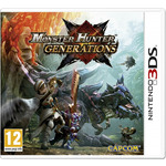 3DS Monster Hunter Generations / RPG / Angličtina / od 12 let / Hra pro Nintendo 3DS (NI3S47800)
