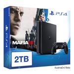 SONY PlayStation 4 - 2TB slim Black CUH-2016 + Mafia III (PS4.2TB.MafiaIII)