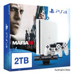 SONY PlayStation 4 - 2TB White CUH-2016 + Mafia III + camera + 2x Dualshock (PS4W.2TB.big.MafiaIII)