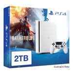 SONY PlayStation 4 - 2TB White CUH-2016 + Battlefield 1 (PS4W.2TB.Battle1)