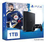 SONY PlayStation 4 - 1TB slim Black CUH-2016B + NHL 2017 (PS4-1TB.NHL17)