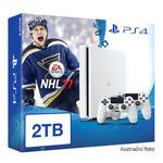 SONY PlayStation 4 - 2TB White CUH-2016 + NHL 2017 + 2x Dualshock (PS4W.2TB.dualpack.NHL17)