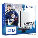 SONY PlayStation 4 - 2TB White CUH-2016 + NHL 2017 + camera + 2x Dualshock (PS4W.2TB.bigpack.NHL17)