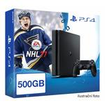 SONY PlayStation 4 - 500GB Slim Black CUH-2016A + NHL 2017 (PS4b.NHL17)