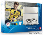 SONY PlayStation 4 - 1TB White CUH-1216A + FIFA 2017 + 2x Dualshock (PS4W.1TB.dualpack.FIFA17)