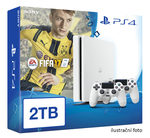 SONY PlayStation 4 - 2TB White CUH-2016 + FIFA 2017 + 2x Dualshock (PS4W.2TB.dualpack.FIFA17)