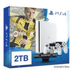 SONY PlayStation 4 - 2TB White CUH-2016 + FIFA 2017 + camera + 2x Dualshock (PS4W.2TB.bigpack.FIFA17)