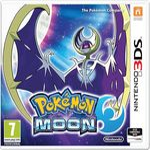 3DS Pokémon Moon Steelbook Edition / RPG / Angličtina / od 7 let / Hra pro Nintendo 3DS (NI3S59408)