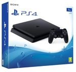 SONY PlayStation 4 - 1TB slim Black CUH-2216B / černý (PS719851059)