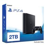 SONY PlayStation 4 - 2TB slim Black CUH-2016 / černý (PS4SlimBlack-2TB)