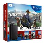 SONY PlayStation 4 - 1TB Slim Black CUH-2016B + Watch Dogs 2 (PS719890454)