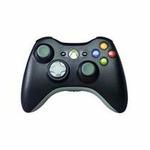 Microsoft XBOX 360 Wireless Controller Black / bulk bez krabičky / bezdrátový / / výprodej (NSF-00002)