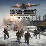 PC Company of Heroes 2 The Western Front Armies US Forces / Elektronická licence / Strategie / Angl