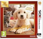3DS Nintendogs+Cats-Golden Retrnew Friends Select / Simulátor / Angličtina / od 3 let / Hra pro Nintendo 3DS (NI3S501)