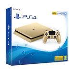 SONY PlayStation 4 - 500GB Slim Gold CUH-2016A / zlatý (PS4Slim.500.gold)
