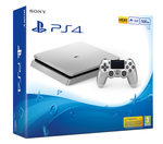 SONY PlayStation 4 - 500GB Slim Silver CUH-2016A / stříbrný (PS4Slim.500.silver)