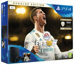 SONY PlayStation 4 - 1TB slim Black CUH-2116B + FIFA 18 Ronaldo Edition + PS Plus 14 dní (PS719916765)