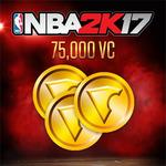 PS4 NBA 2K17 75000 VC / Sportovní / Angličtina / od 3 let / Herní měna (SCEE-XX-S0032423)