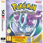 3DS Pokémon Crystal DCC / RPG / Angličtina / od 12 let / Hra pro Nintendo 3DS (NI3S59540)