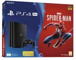SONY PlayStation 4 Pro - 1TB CUH-7116B series + SPIDERMAN / černý (PS719406570)