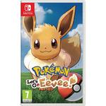 Switch Pokémon Let's Go Eevee! / RPG / Angličtina / od 7 let / Hra pro Nintendo Switch (NSS535)