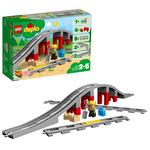 LEGO DUPLO Doplňky k vláčku – most a koleje / 26 kostek / 2-5 let (10872)
