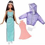 Mattel FJF71 Barbie Modelka - 86 s oblečky a doplňky / věk od 3 let (FJF71)