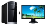 "PC Mironet Home 3093W Silver / Intel Core i5-3330 3,2 GHz / 4GB/ 1TB / Intel HD 2500 / DVDRW / W7HP+22""Asus mon"