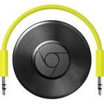 Google Chromecast Audio Black / Mini počítač pro on-line obsah / YouTube / Wi-Fi / Jack 3.5 / Android / iOS / Win/ černý (HDRGG1110)