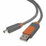 Belkin USB 2.0 kabel A-miniB 4-pin propojovací 1,8m (CU1300aej06)