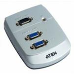 ATEN VGA splitter / VS-82 / 2-portový (1 PC - 2 monitory) / 250MHz / výprodej (VS-82)