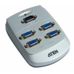 ATEN VS-84 4-portový VGA rozbočovač 250 MHz (VS-84) - Aten VS-84 VGA splitter / 4-portový (1 PC - 4 monitory) / 250MHz