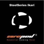COREPAD Skatez for SteelSeries Ikari / 2x náhradní klouzače / Černé (CS27750)