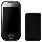 CELLY SILY, silikonový obal pro SAMSUNG I5800 GALAXY MINI, černá