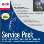 APC (3) Year Service Pack Extended Warranty / záruka pro nově zakoupený pordukt / SP-02 (WBEXTWAR3YR-SP-02)